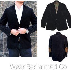 J CREW Ludlow Corduroy Coat blazer w/ Elbow Patch